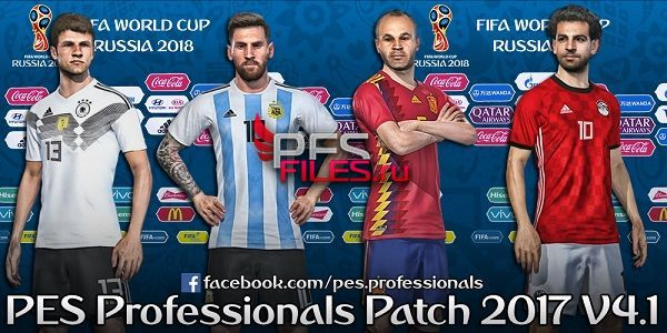 PES 2017 PES Professionals Patch 2017 Option File