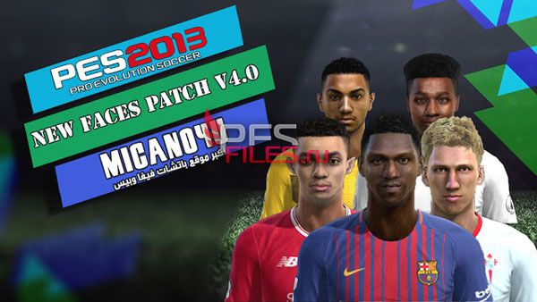 PES 2013 PESEdit 6.0 New Facepack v4.0