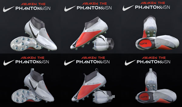 f0973076ef6 Pes 2018 and 17 Nike Phantom Vision boots