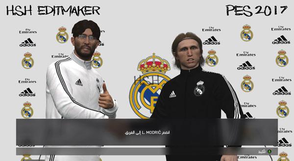 a2b3f5bd4 Pes 2017 Real Madrid 18-19 Press Room And Manager Kits