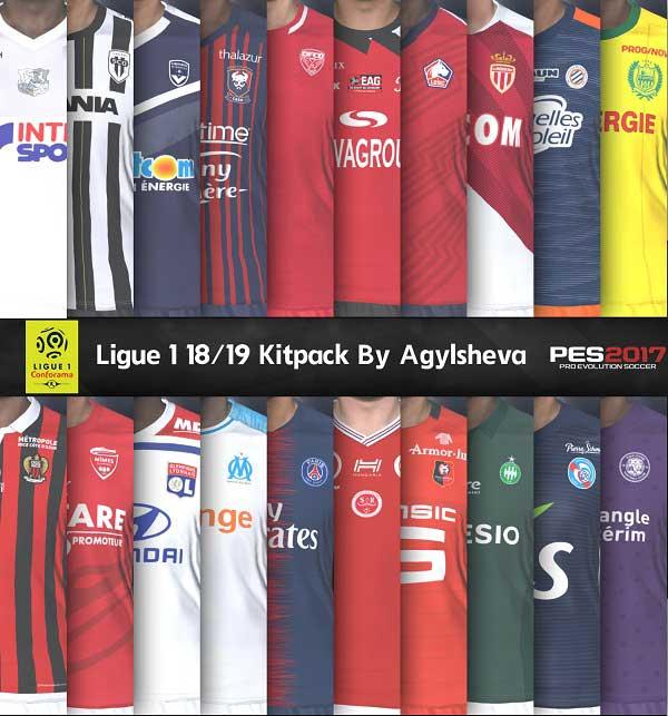 6d351c6e7 PES2017 Ligue 1 Kits For Season 2018 19