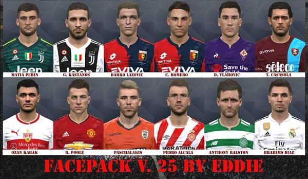 PES 2017 Facepack v25