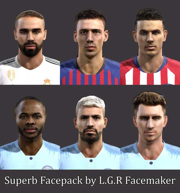 Pes 2013 Superb Facepack