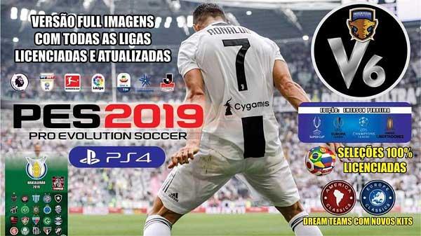 PES 2019 PS4 Option File v6 DLC 4 02, патчи и моды