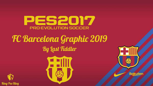 PES 2017 Barcelona Graphic 2019