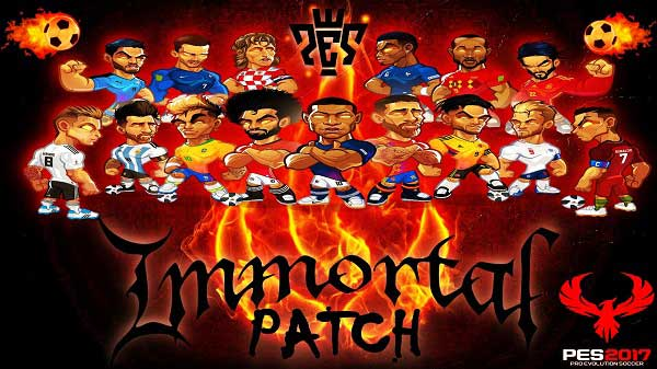 PES 2017 Immortal Patch Option File 01/04/2019