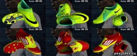 NIKE AND ADIDAS SPEED BOOTS (FINAL SKIN)
