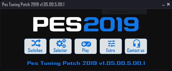 PES 2019 PES Tuning Patch 2019 v1.05.00.5.00.1