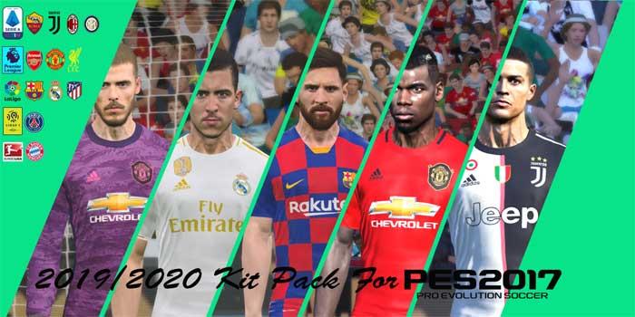 PES 2017 Kits Pack Season 2019-20