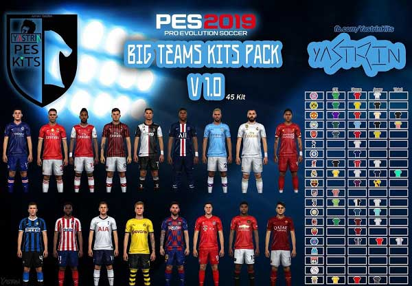 PES 2019 Option File Kits 2019/20 PS4, патчи и моды