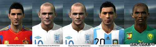 Pes 2011 Facepack by MichalGRau
