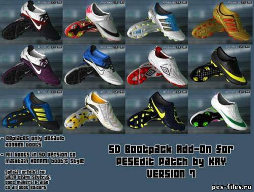 Bootpack Addon for PESEdit Patch 3.5