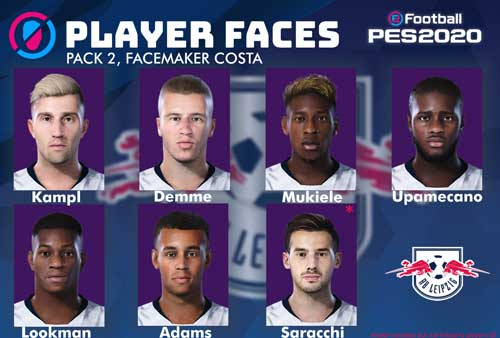 Pes 2020 Rb Leipzig Facepack By Costa Patchi I Mody