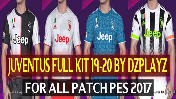 Pes 2017 Juventus Full Kit Season 2019 20 By Dzplayz Patchi I Mody