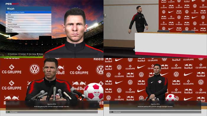 Pes 2017 Rb Leipzig Press Room Manager Kit Face Patchi I Mody
