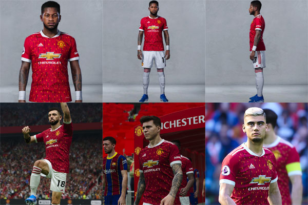 Pes 2020 Manchester United Fc Kits 2020 2021 By Nikita23k Patchi I Mody