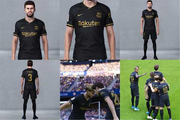 Pes 2020 Barcelona Fc Away Kit 20 21 By Nikita23k Patchi I Mody