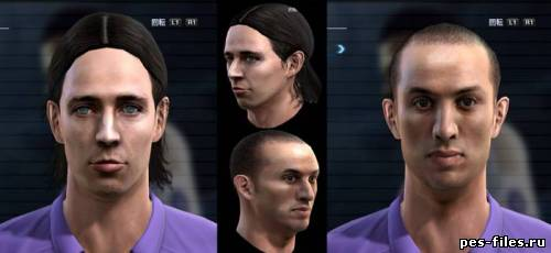 MONTOLIVO AND KHARJA FACES