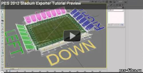 PES 2012 Stadium Exporter Tutorial by gkan