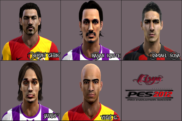 Pes 2012 Turkish Facepack by fLisya