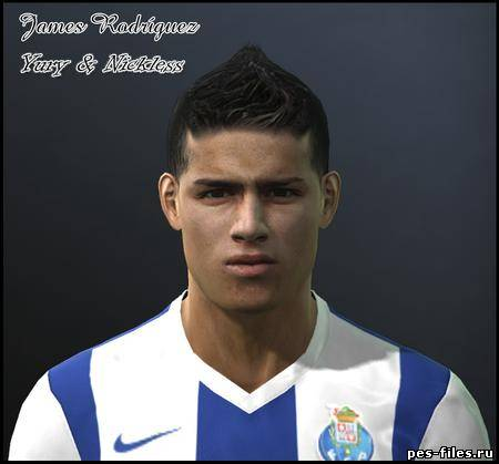 Pes 2011 James Rodriguez Face