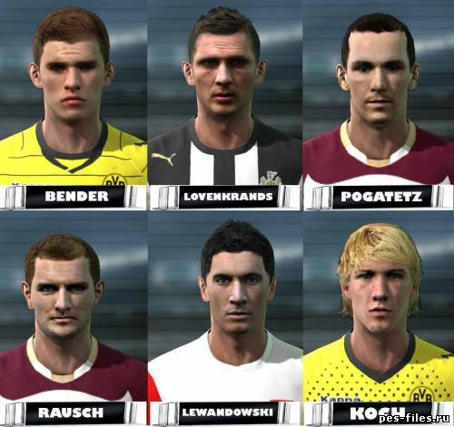 Pes 2011 Facepack by Andrews