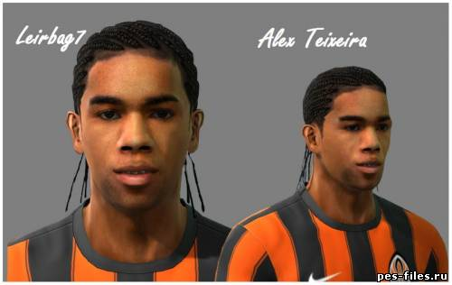 Pes 2011 Alex Teixeira Face