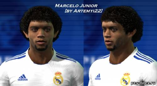 Marcelo Face for PES 2011