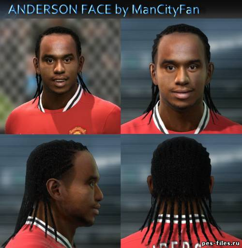 Pes 2011 Anderson Face