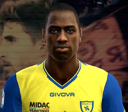 Pes 2012 Boukary Drame face by Barney