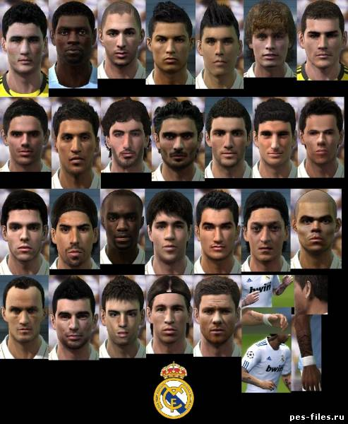 Real Madrid Facepack PES 2011
