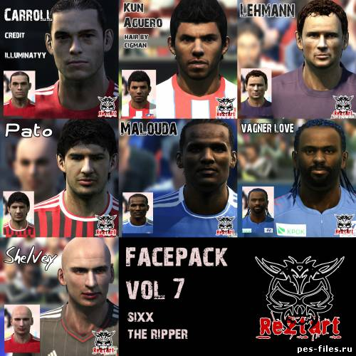 Pes 2011 Facepack vol.7