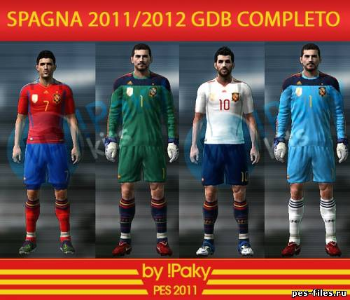 PES 2011 Spain 11/13 complete GDB