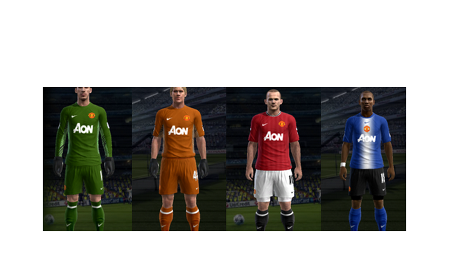 Pes 2012 Kits Manchester United Fantasy