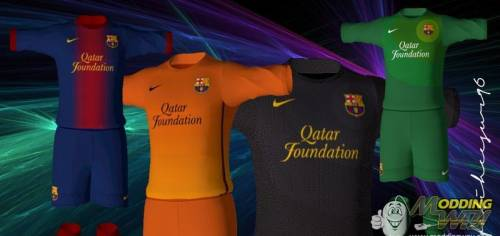 PES 12 Barcelona 12/13 GDB Kit Set