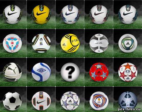 PES2011 balls pack + HD preview v2