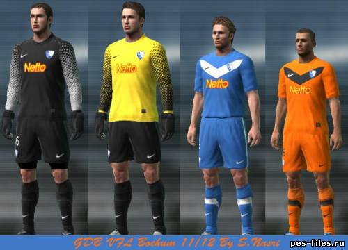 VFL Bochum 11/12 Kit Set