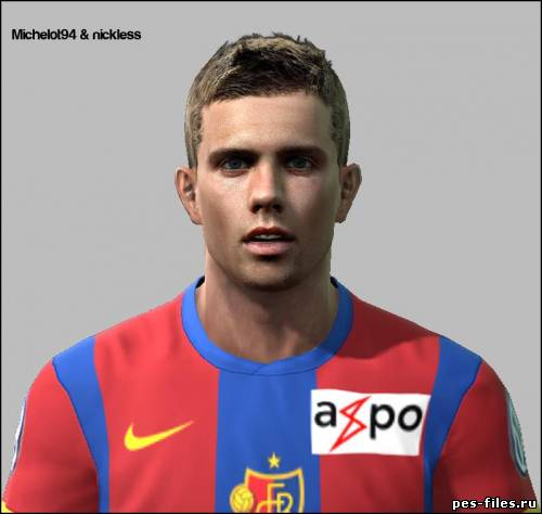 Pes 2011 Valentin Stocker Face