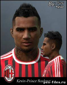 pES 2011 Face Kevin-Prince Boateng