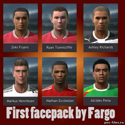 Pes 2011 First Facepack