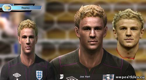 Pes 2011 Joe Hart Face