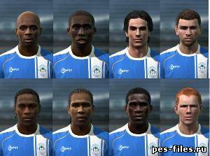 Pes 2011 Wigan facepack