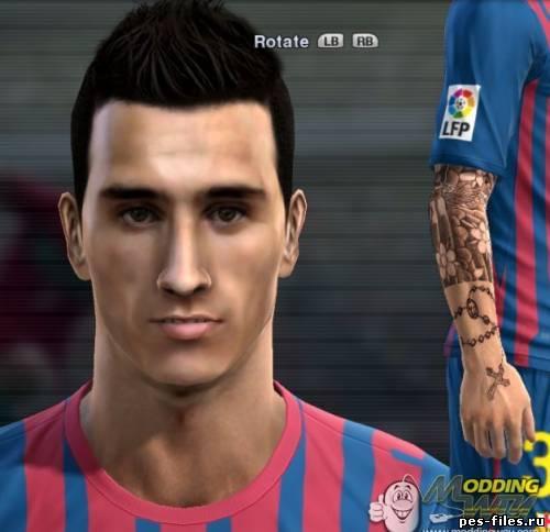 Face Cristian Tello Pes2012 Ps2
