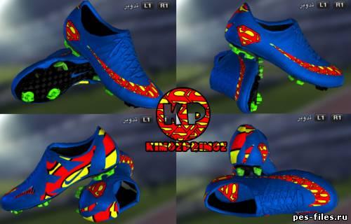 Superman 2012 Boot For PES2012, скачать дополнения игры