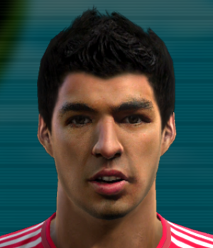 Pes 2012 Luis Suarez Face by adam13