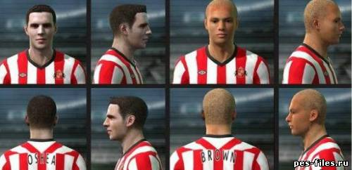 Pes 2011 Mini facepack#35
