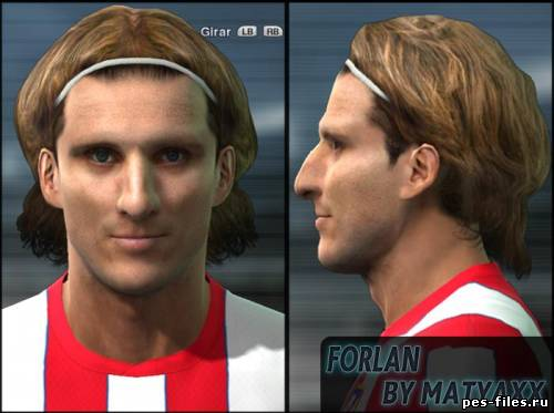 Pes 2011 Diego Forlan Face