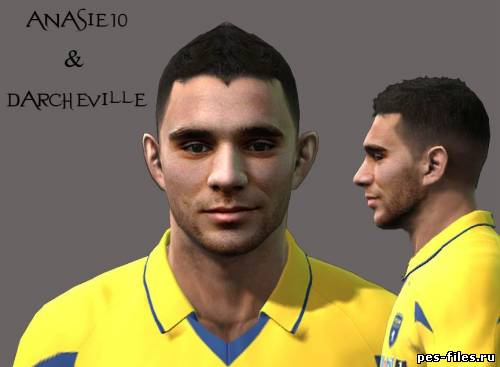 Pes 2011 Marvin Martin Face