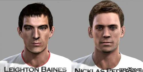 Pes 2012 Baines and Pedersen face