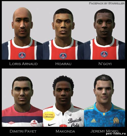 Pes 2011 Facepack Ligue 1